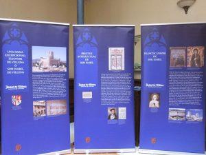EXPOSICIÓ ITINERANT: 'SOR ISABEL DE VILLENA (1430-1490)' @ Sala d' exposicions