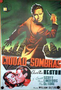 FÒRUM DELS CLÀSSICS DEL CINEMATÒGRAF: 'CIUDAD EN SOMBRAS' @ Sala de Debat Pep Torrent