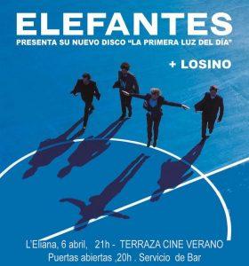 CONCERT DE 'ELEFANTES' A L'ELIANA @ Terrassa del Cinema d'Estiu | La Eliana | Comunidad Valenciana | España