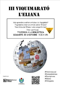 III VIQUIMARATÓ DE L'ELIANA @ Biblioteca Municipal