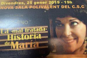 LA MALTRATADA HISTORIA DE MARÍA @ Nova sala expositiva CSC