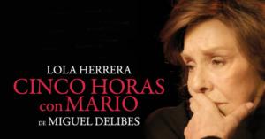 "ANEM AL TEATRE: ""CINCO HORAS CON MARIO"" @ Auditori Municipal"