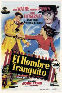 Fòrum dels clàssics del cinematògraf: 'EL HOMBRE TRANQUILO' @ Sala de debat Pep Torrent