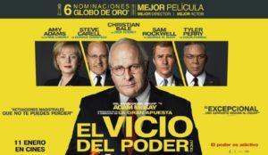 EL VICIO DEL PODER @ Cinema d'estiu